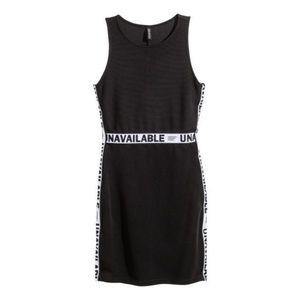 H&M tape dress